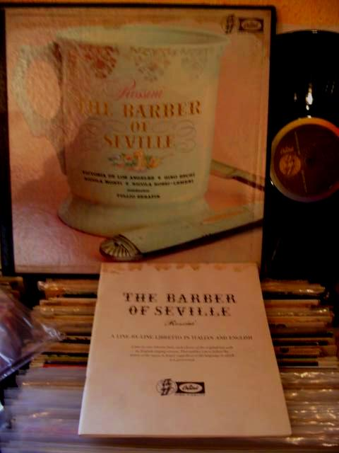 ROSSINI - BARBER of SEVILLE - DE LOS ANGELES [ SIGNED ]